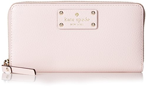 Kate Spade Wellesley Neda Leather Clutch Wallet, Posy Pink by Kate Spade New York