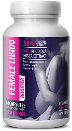 Female libido Booster Pills – Female LIBIDO Booster – Women Sexual Support – Female libido Natural Wellbeing – 1 Bottle 60 Capsules