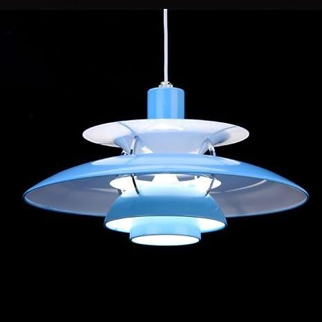 Lámpara Pantalla Azul PH 5 Modern clásica imitación 3 ...