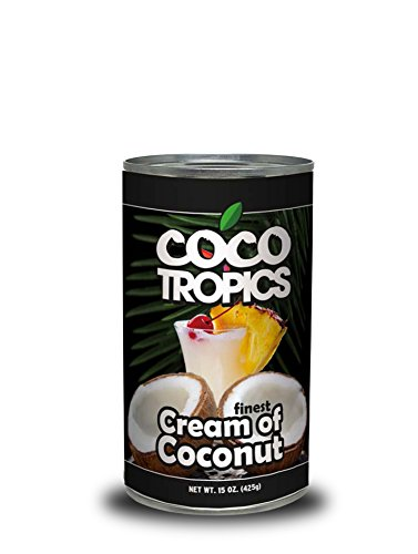 Coco Tropics Cream of Coconut (15 oz-Pack of 24) by Coco Tropics (Image #2)