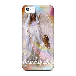 Awesome Guardian Angel Ii Flip Case With Fashion Design For Iphone 5c