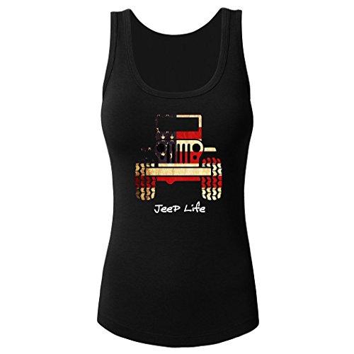 Jeep Girl Women's Tank Top Sleeveless