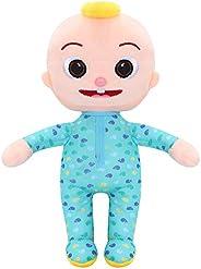 JJ Doll Bedtime Plush Stuffed Animal Toys,Melon Plush Bedtime JJ Doll for Kids Toddlers Holiday Birthday Gift