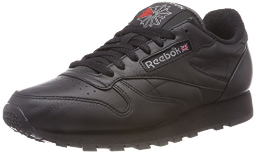 Classic red Leather Neroblack carbon ArchiveSneaker Uomo Reebok bgYf6v7y