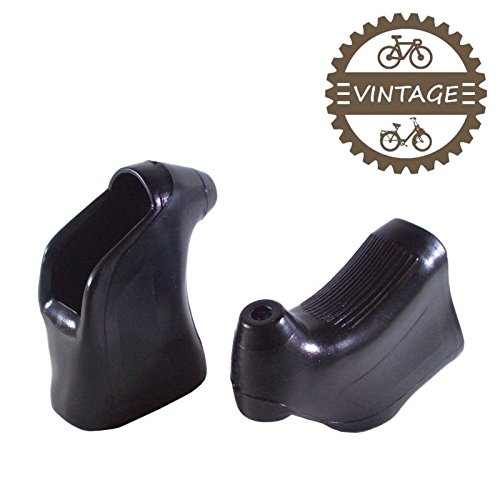 Road Vintage Bicycles (cyclingcolors BRAKE LEVER HOODS BLACK TYPE CAMPAGNOLO MAFAC SHIMANO 600 ARABESQUE BICYCLE VINTAGE ROAD)