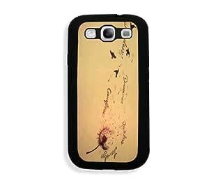 Vintage Dandelion Birds Samsung Galaxy S3 SIII i9300 Case Fits - Samsung Galaxy S3 SIII i9300