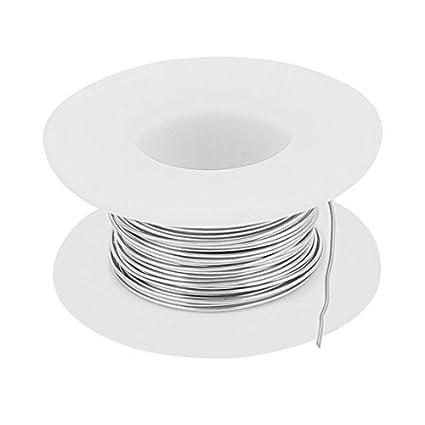 eDealMax 5M 0.55mm 23AWG Cable Constantan calentador de alambre para Elementos de calentamiento