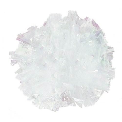 Weddingstar 2444-15 Package of 500 Just Fluff Colored Plastic Poms- Peach