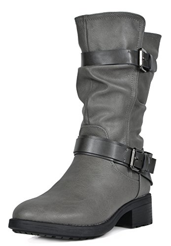 Grey Boots For Women - 7