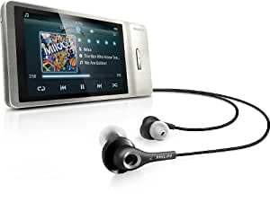 Philips GoGear Muse 16 GB MP3 Player (Silver)