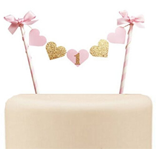 Gold and Pink Heart