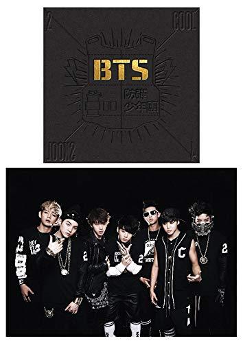 BTS Music [2 Cool 4 Skool] BANGTAN BOYS Single Album CD + Photo Book + Extra 4Photo Cards Set (Bts 2 Cool 4 Skool O Rul8 2)