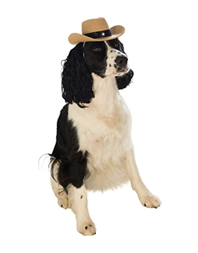 Rubie's Brown Cowboy Hat for Pets,