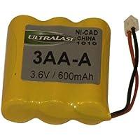 3.6v 600 Mah Nicad Cordless Phone Battery Pack-2pack