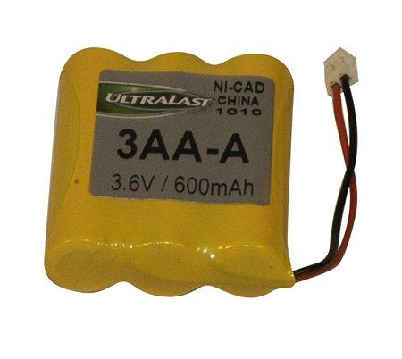 Extended Cordless Phone Battery - 3.6v 600 Mah Nicad Cordless Phone Battery Pack-2pack