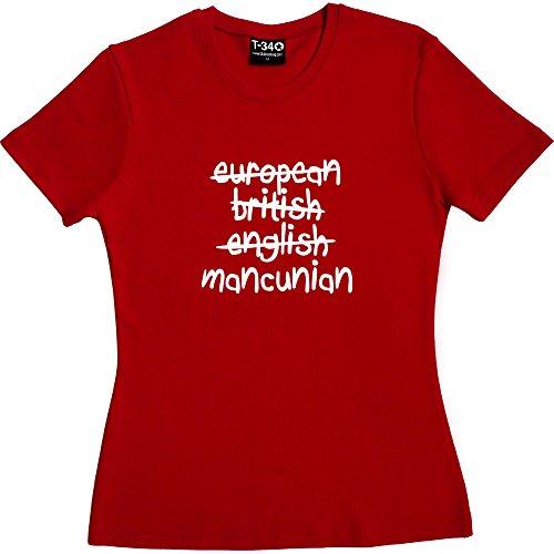 T34 - Camiseta - Mujer Red Women's T-Shirt