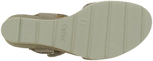 Sandali Con Il Cinturino Basico Da Donna Gabor, Grigio Marrone (visone)