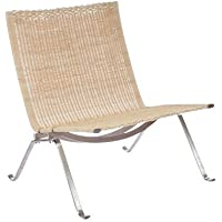 PK22 Easy Lounge Chair - Natural Rattan High Quality