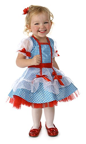 Princess Paradise Baby Girls' The Wizard of Oz Dorothy Glitter Deluxe Costume, As As Shown, 18M/2T]()