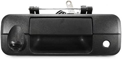 PYvideo Backup Camera with Tailgate Handle for Toyota Tundra 2007-2013 for Universal Monitors RCA