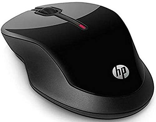 HP X3500 Wireless Mouse  Black  Mice