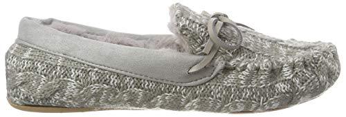 flop Loaferknit 0300 flip Grau Grey Pantoufles Femme 5dUnxqPwv