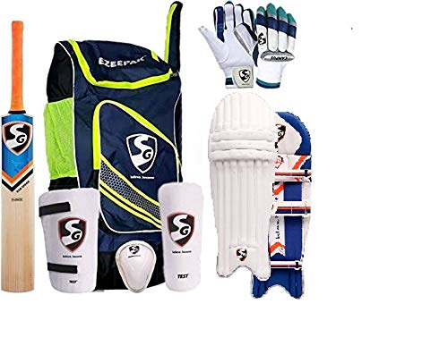 420bae4c1 SG Cricket Kit Full Set For Adults with Ezeepak Bag - Buy Online in KSA.  Sporting Goods products in Saudi Arabia. See Prices
