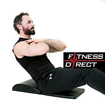 Fitness Direct Ab Mat Cushion Sit Up Core Exerciser Abdominal Stomach Trainer