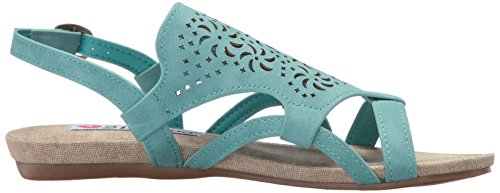 Too Dress 2 Sandal Lips Teal Cassie Women 1qTwB6p