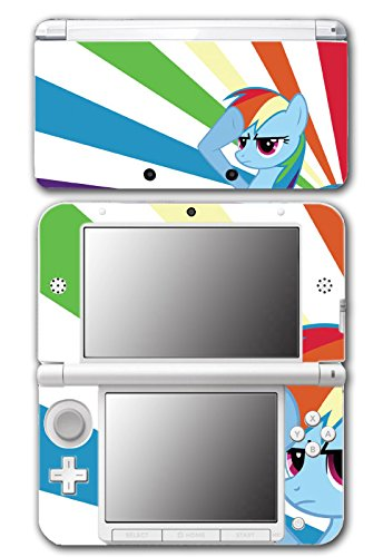 My Little Pony Friendship is Magic MLP Rainbow Dash Video Game Vinyl Decal Skin Sticker Cover for Original Nintendo 3DS XL System