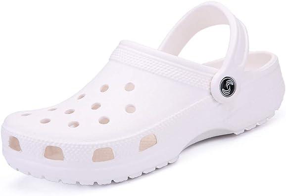 Moda Unisex Jardín Zuecos Hombres/Mujeres Mulas ultraligeras Sandalias Zapatos de Playa Zapatillas Informales Disponibles en: Amazon.es: Zapatos y complementos