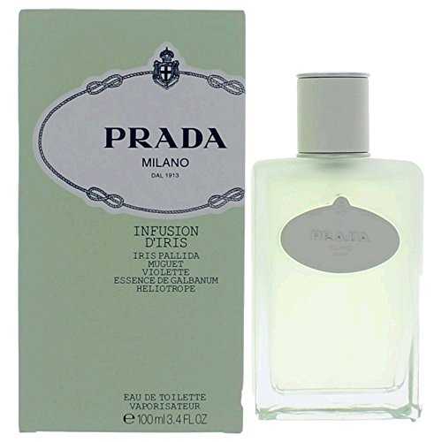By De Spray Parfum Eau Prada (Prada Milano Infusion D'Iris Eau-de-toilette Spray Women by Prada, 3.4 Ounce)