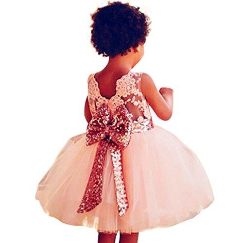 WanYang Baby Maedchen Kleid Fuer Elegantes Formale Blumenmädchen ...
