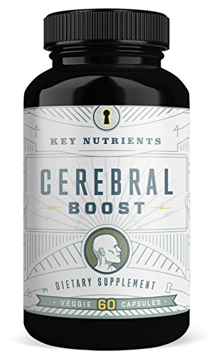 Nutrients Brain (Brain Support Supplement, Cerebral Boost: Aids with Memory, Focus & Clarity. Contains DMAE, Rhodiola Rosea, Gingko Biloba, phosphatidylserine & More. (1))