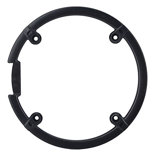 Chain Guard Protector, Black Plastic Chain Wheel Crankset Cover for Mountain Bike by VGEBY (Image #6)