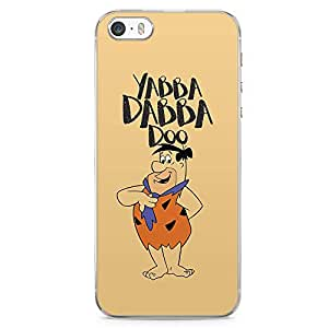 Loud Universe Yabba Dabba Classic Cartoon iPhone 5 / 5s Case The Flintstone iPhone 5 / 5s Cover with Transparent Edges