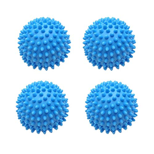 Techtongda 4pc Laundry Wash Dryer Balls Laundry Drying Fabric Softener Reusable Laundry Ball Washing Ball