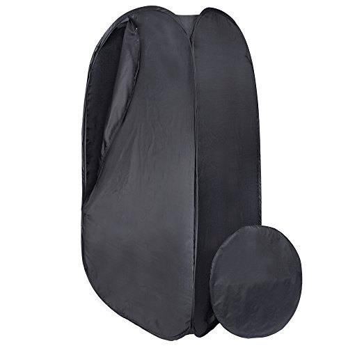 AW Black 36x36x73″ Portable Pop Up Dressing Room Model Changing Fitting Tent Outdoor Camping Privacy For Sale