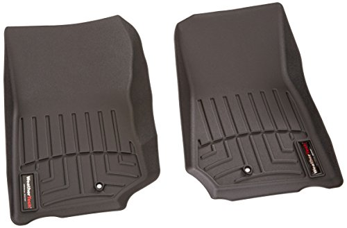WeatherTech Custom Fit Front FloorLiner for 2007-2013 Jeep Wrangler/Wrangler Unlimited (Black)