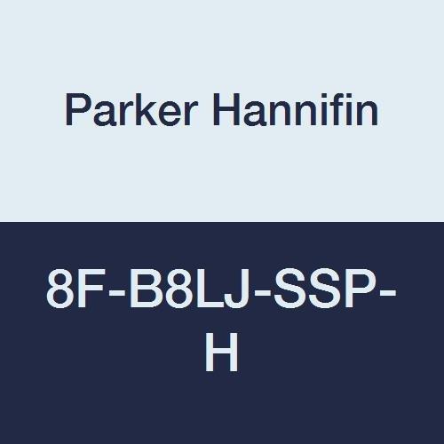 Parker Hannifin 8F-B8LJ2-SSP-R Series B8L Series Stainless Steel 2-Way Ball Valve PTFE Seal PCTFE Seat 1//2 Female NPT Port Panel Mount