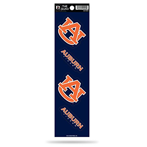 - Rico NCAA Auburn Tigers Quad Decal