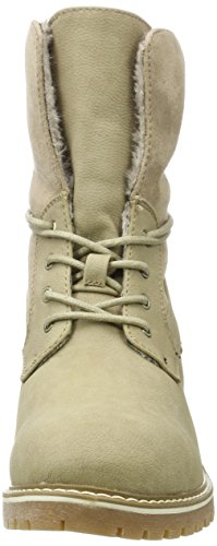Tom Tailor Damen 3790901 Desert Boots Braun (taupe)