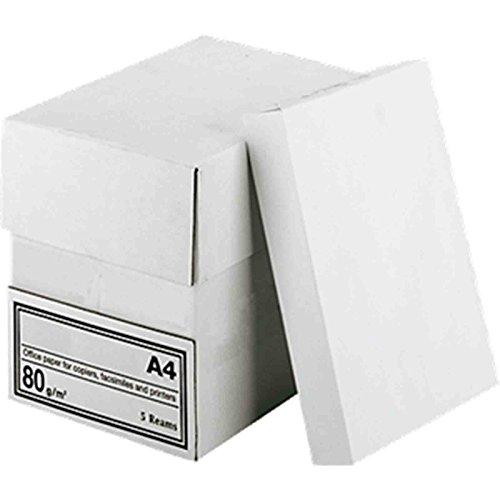 2500 Blatt Papier A4 80g weiß Kopierpapier Druckerpapier Laserpapier Faxpapier Duplex