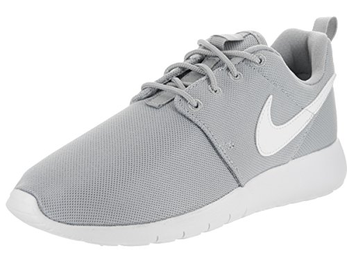 a0c045b919 Galleon - Nike Roshe One GS Big Kids Running Shoes Wolf Grey/White  599728-033 (7 M US)