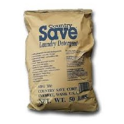 Country Save Detergent Powdered - Country Save BG11697 Country Save Laundry Detergent - 1x50LB