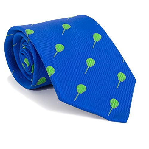 (SummerTies Horseshoe Crab Necktie - Blue, Printed Silk, Standard Length)