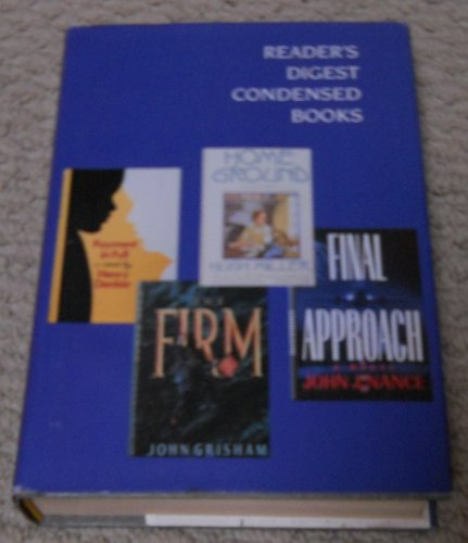 Reader's Digest Condensed Books Volume 3 1991 Payment in Full, Home Ground, The Firm, Final Approach