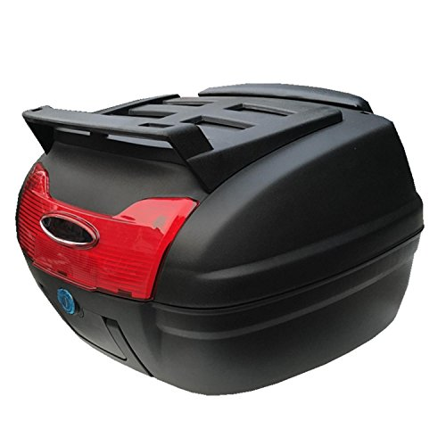 Heruai Outdoor Motorcycle Trunk Electric Car Rear Box Pulled Goods Box Suitcase Bicycle Storage Box   A