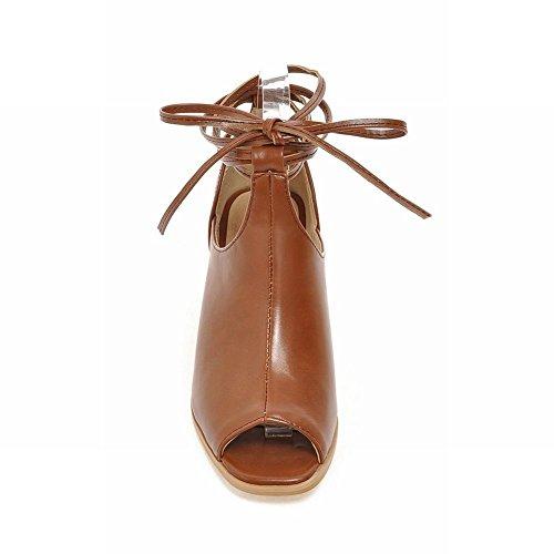 Sandali Con Tacco Medio In Chunky A Tacco Alto Delle Donne Di Carolbar