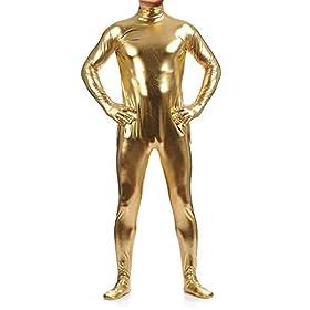 - 41Pvne7sBkL - Shiny Metallic Unitard Zentai Bodysuit